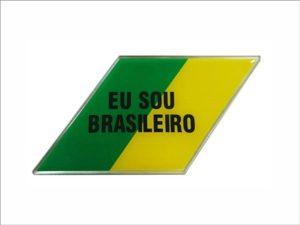 ADESIVO RESINADO EU SOU BRASILEIRO LD